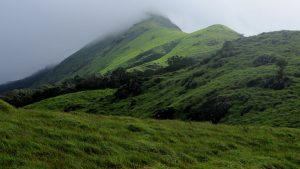 Trekking Up Hill on the Chembra Peak Wayanad