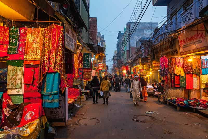 Shopping in Old Delhi